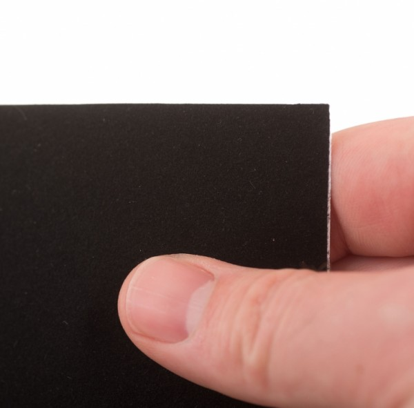 Velours-Klebefolie schwarz