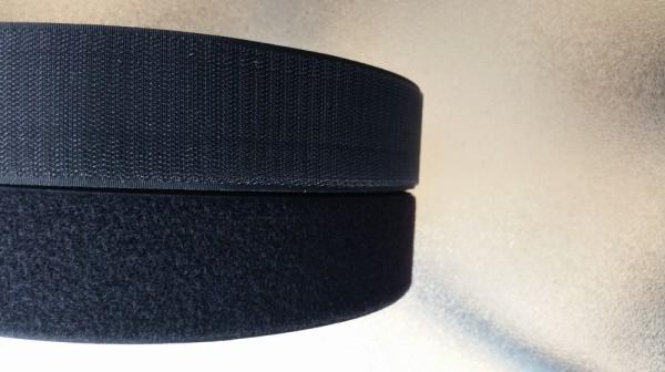 self adhessive hook and loop tape black